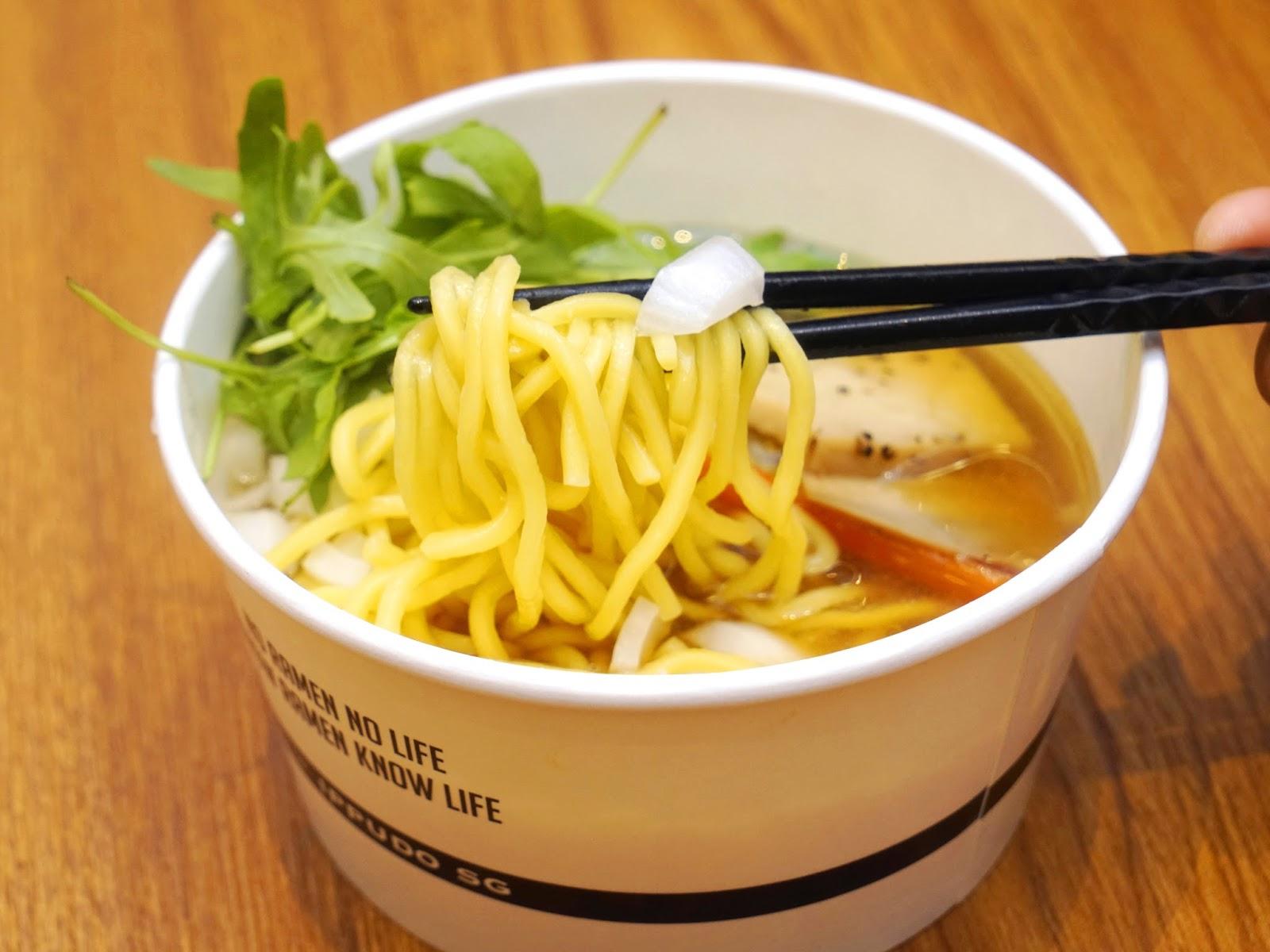 Pinkypiggu: Kuroobi By Ippudo @ Mbs ~ A Ramen Takeaway for Ippudo $10 Ramen