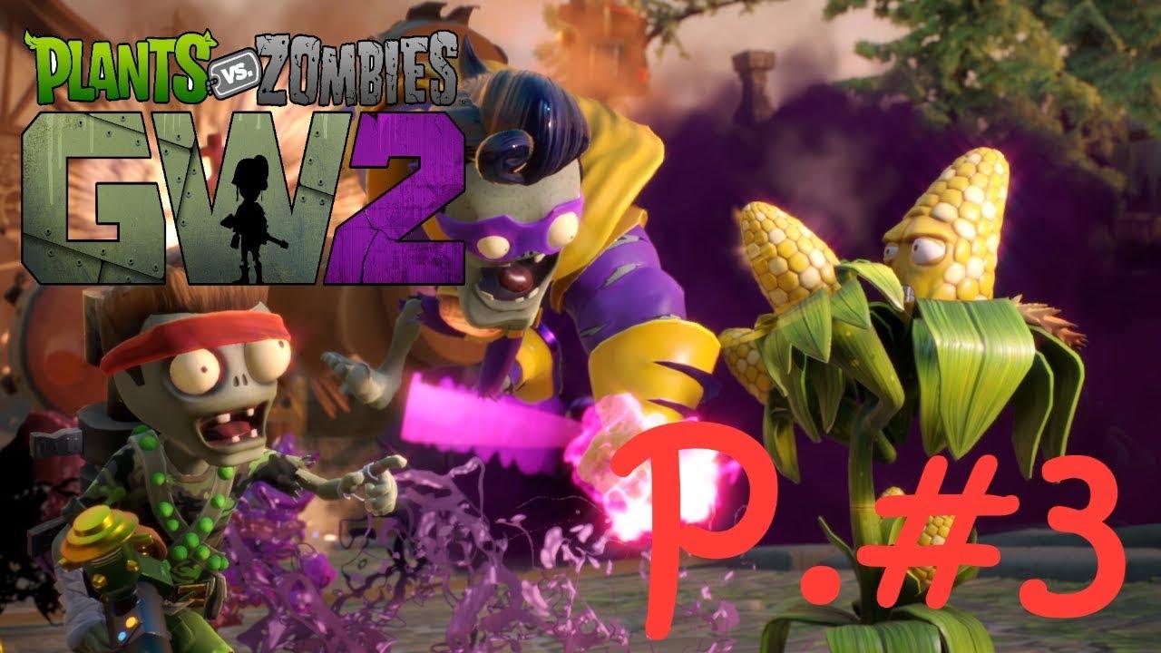 Plants Vs Zombies Gw2 Multijugador   Partida A Muerte pertaining to Pvz Gw2 Eventkalender