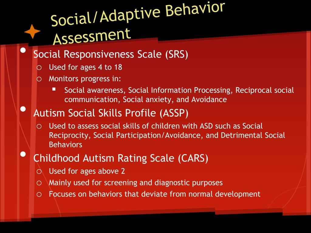 Ppt  Learners With Autism Spectrum Disorders Powerpoint regarding Autism Social Skills Profiel 2