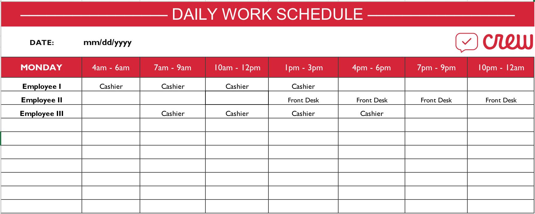 Preschool Word Excel Calendar Template   Example Calendar throughout Lesson Calendar Template