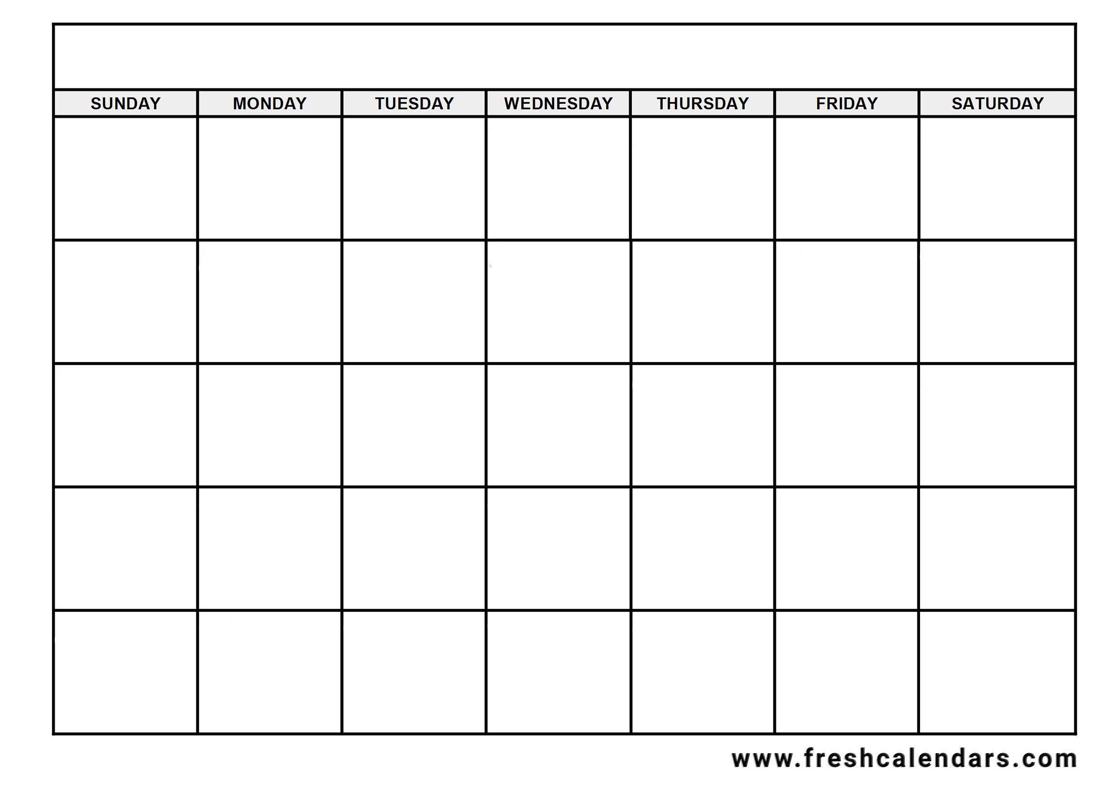 Printable Blank Calendar Templates regarding Two Week Calendar Template Word