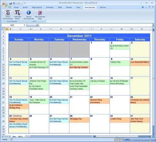 Printable Calanders | Excel Calendar, Excel Calendar inside Wincalendar Calendar Maker