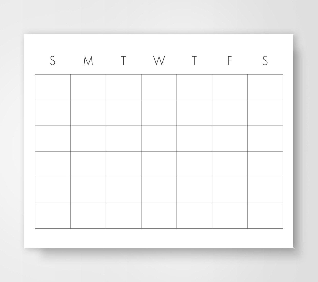 Printable Calendar 8 X 11 :Free Calendar Template for 8X11 Calendar Printable
