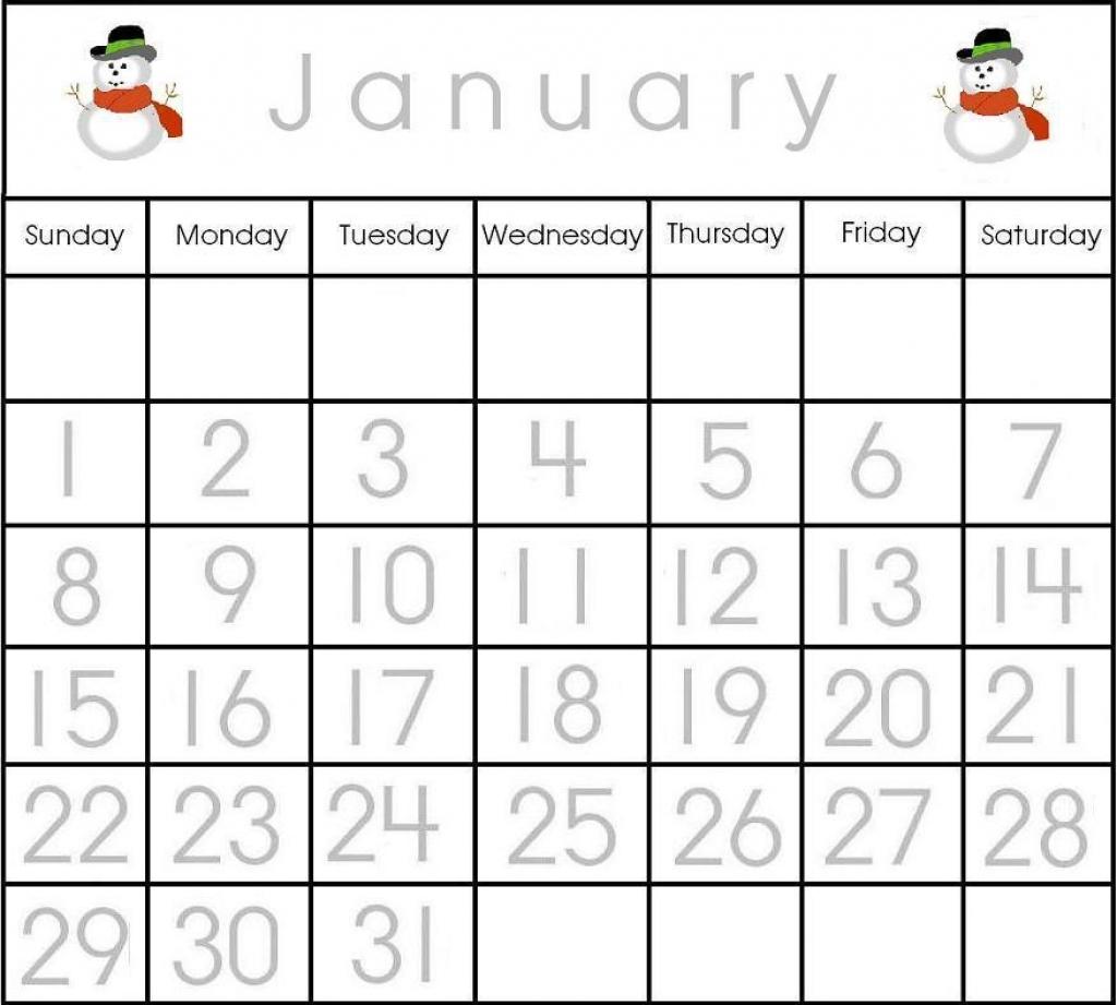 Printable Calendar Numbers 131 Free :Free Calendar Template with regard to Printable Numbers 1-31