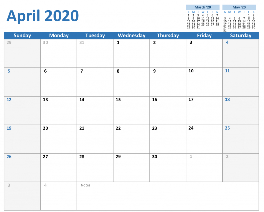 Printable Monthly 5 Day Calendar 2020 | Example Calendar Printable with 5 Day Blank Calendar