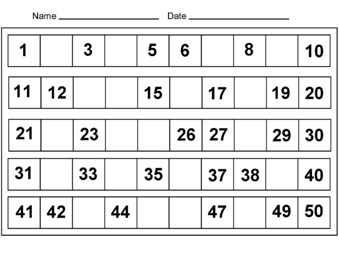 Printable Preschool Numbers 1 31   Free Calendar Template with regard to Printable Numbers 1-31