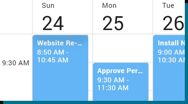 React Scheduler   Devextreme Reactive inside React Native Calendar Agenda