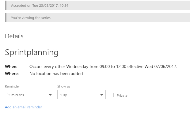 Recurring Outlook Appointments Not Displaying In Google for Outlook Calendar Not Showing Appointments