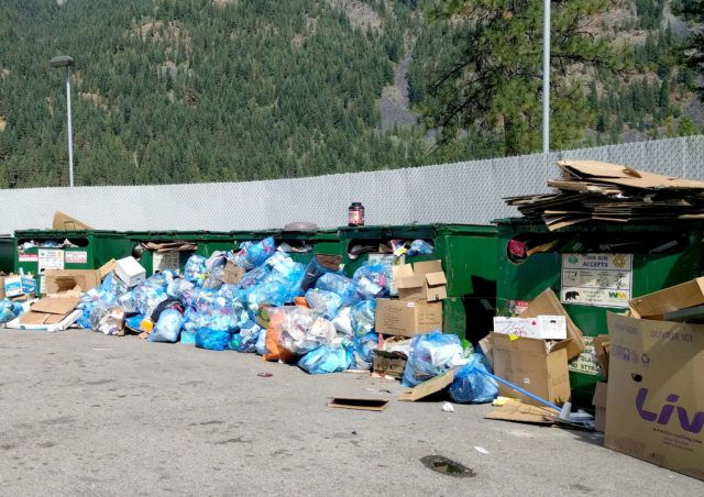 Recycling Piles Up At Grohman Narrows  Nelson Star with Nelson Recycling Calendar