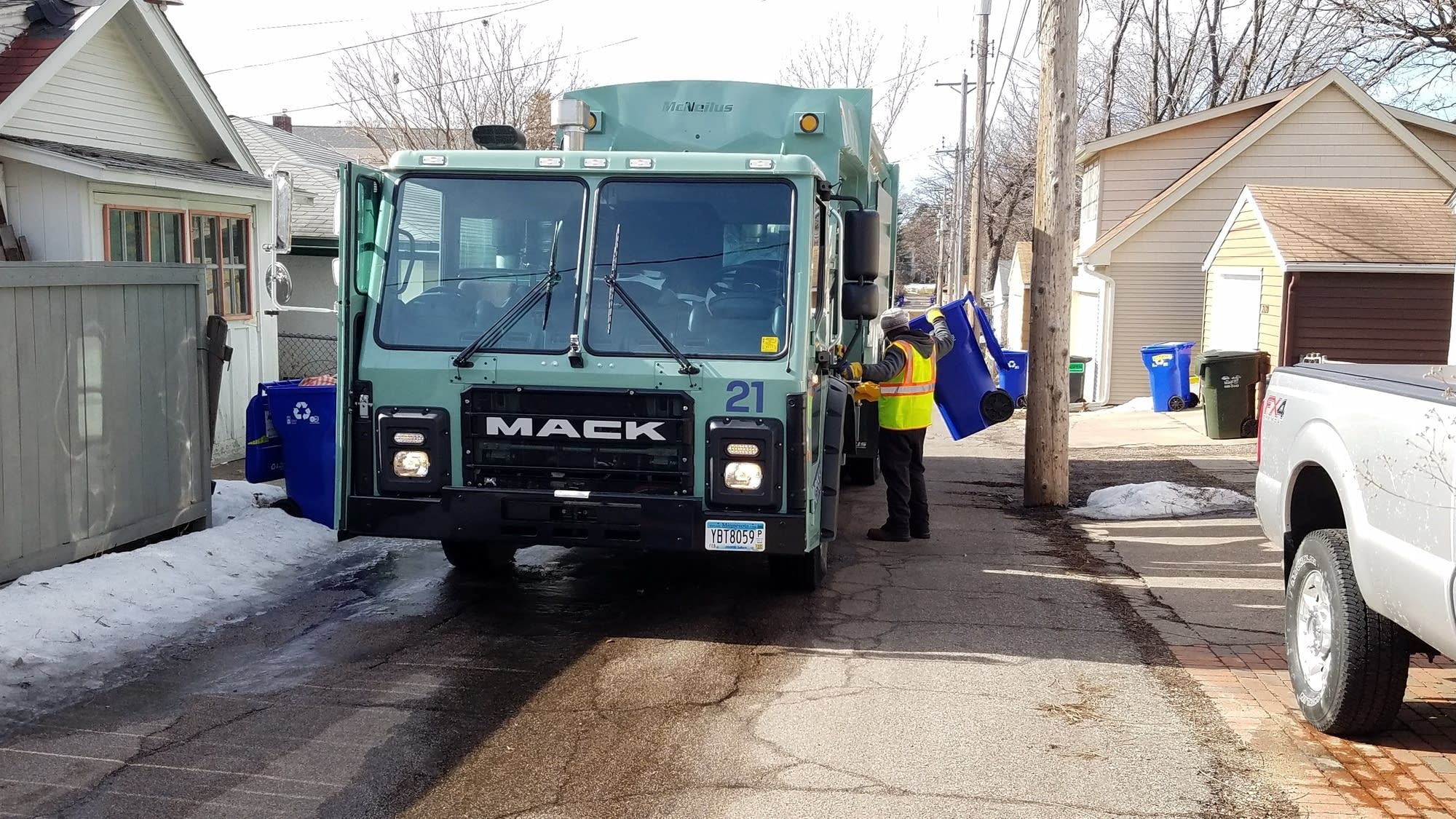 Recycling Woes Linger For Some St. Paul Residents   Mpr News intended for Nelson Recycling Calendar