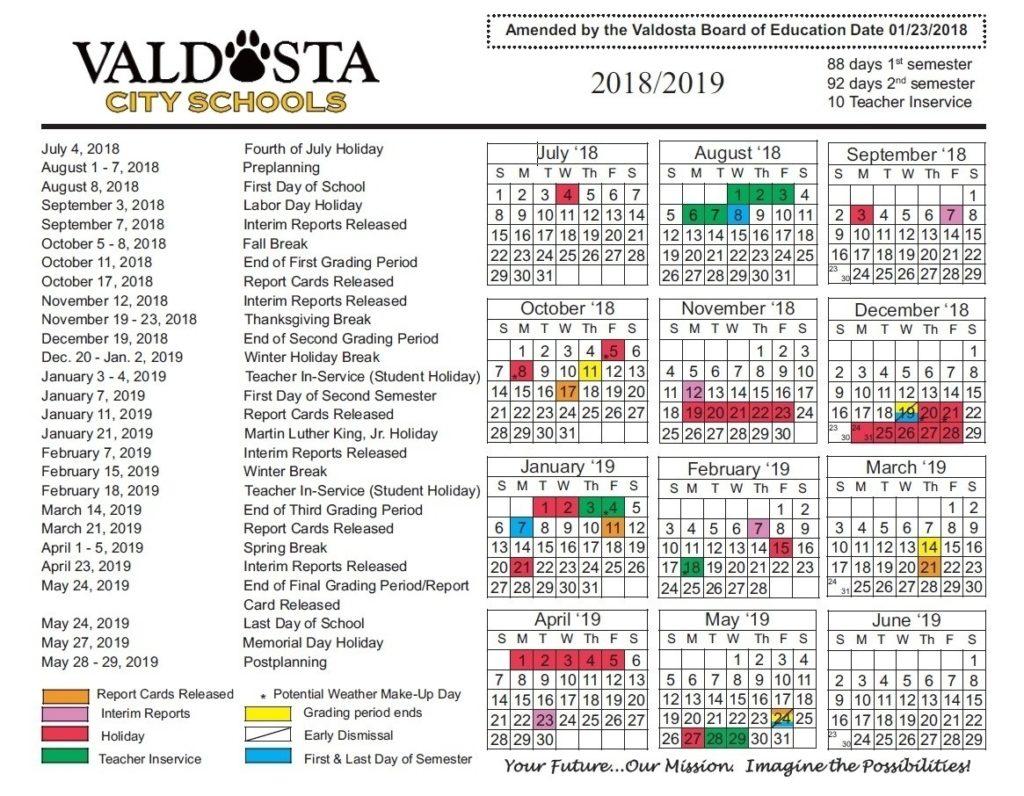 Remarkable Georgia Prek School Calendar • Printable Blank pertaining to Uga School Calendar