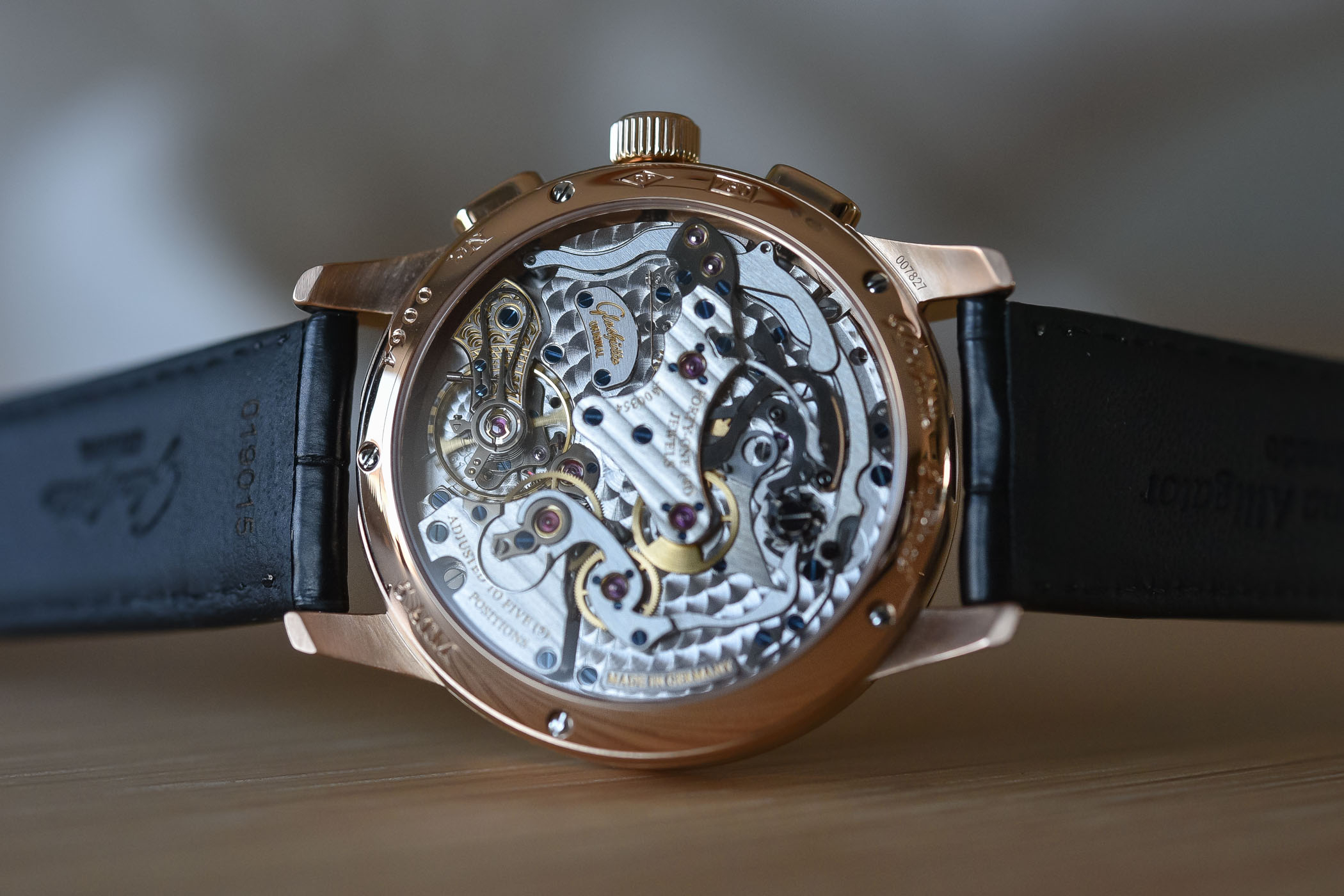 Review  Glashutte Original Panograph Flyback (Live Pics intended for Lunar Calendar For Cockfighting