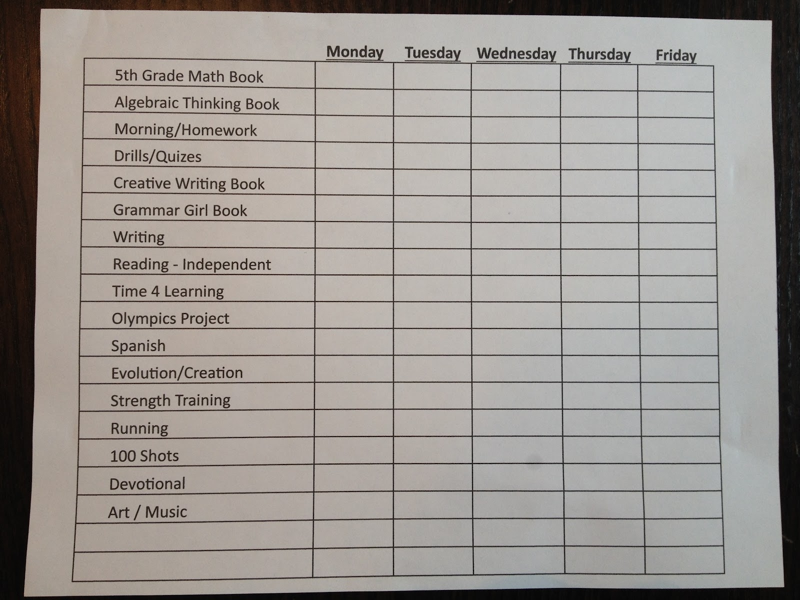 Schedule For The Day In 15 Min Increments | Ten Free with regard to Daily Calendar With 15 Minute Time Slots