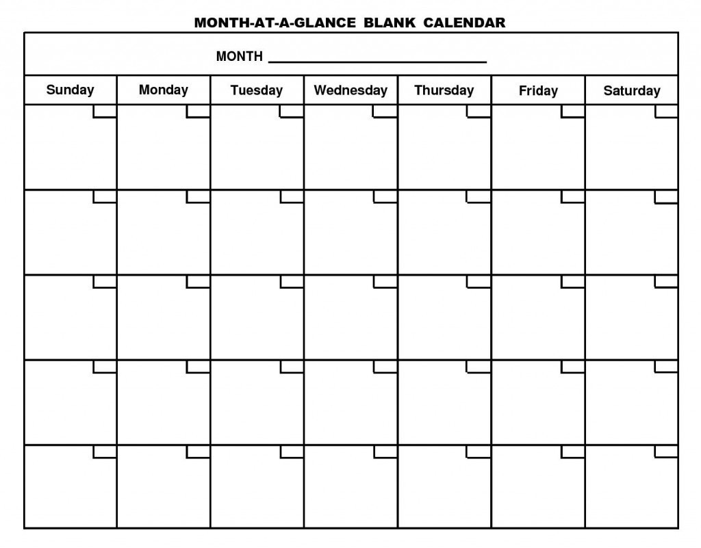 Six Week Blank Calendar Template   Example Calendar Printable with regard to Remarkable Calendar Template
