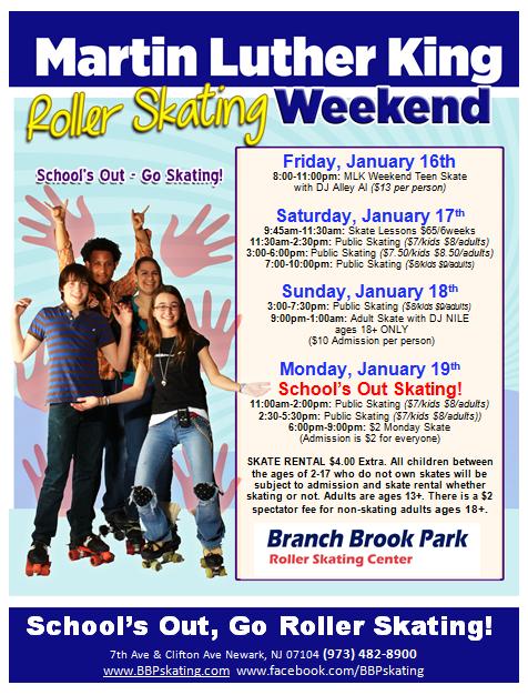Special Events   Branch Brook Park Roller Skating Center for Branch Brook Park Roller Skating Center Newark Nj