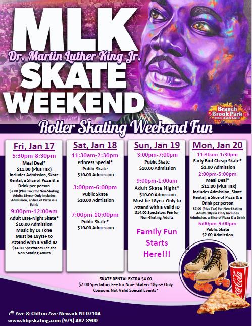 Special Events   Branch Brook Park Roller Skating Center pertaining to Branch Brook Park Roller Skating Center Newark Nj