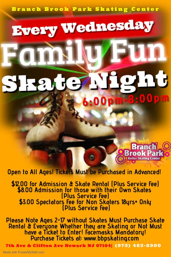 Special Events   Branch Brook Park Roller Skating Center pertaining to Branch Brook Park Roller Skating