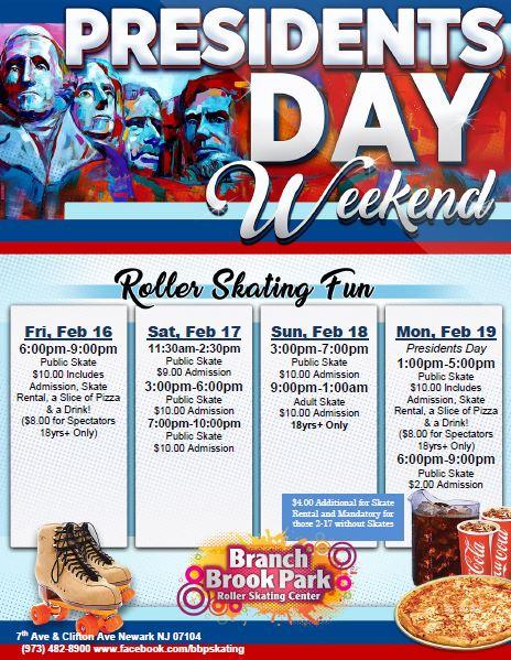 Special Events   Branch Brook Park Roller Skating Center with Branch Brook Park Roller Skating