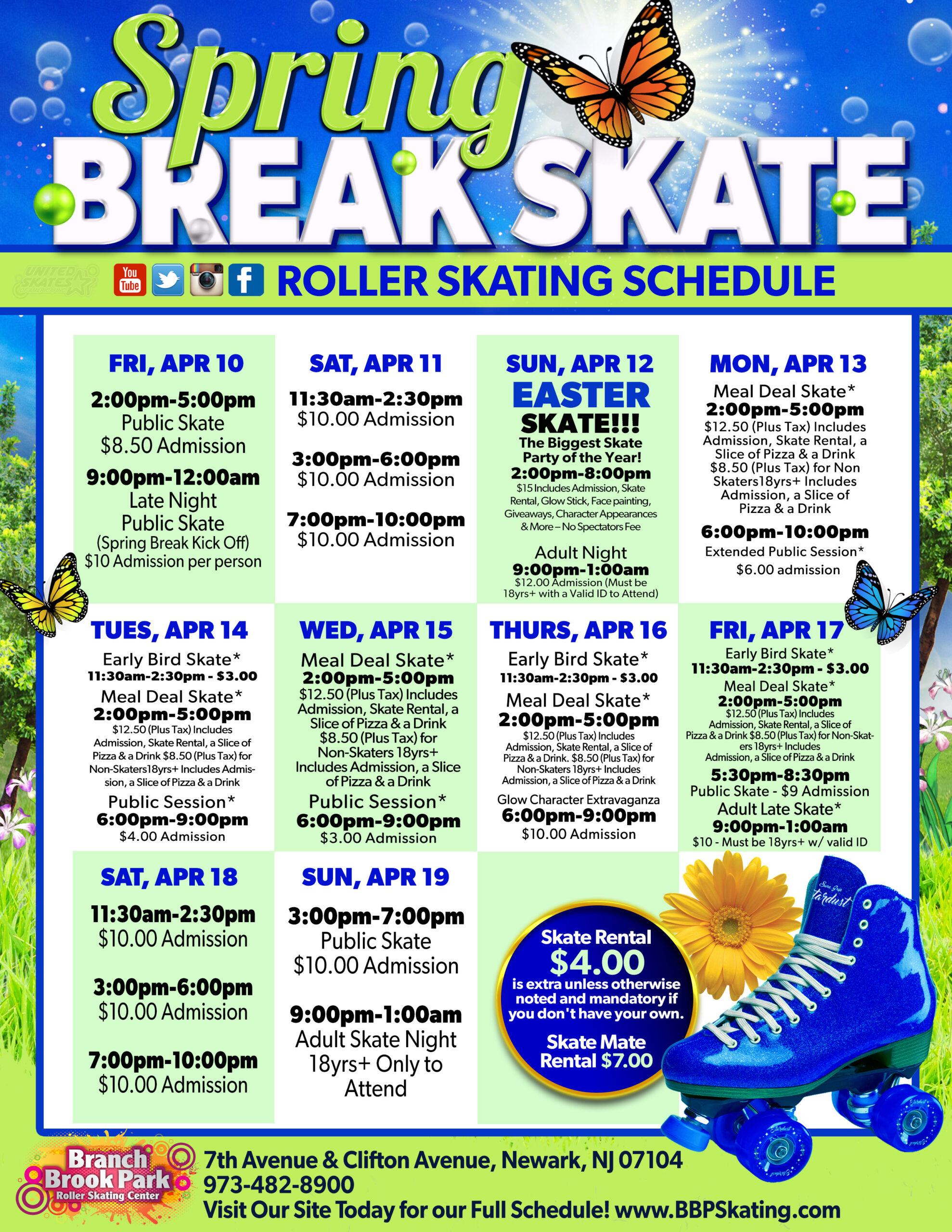 Special Events   Branch Brook Park Roller Skating Center with regard to Branch Brook Park Roller Skating Center Newark Nj