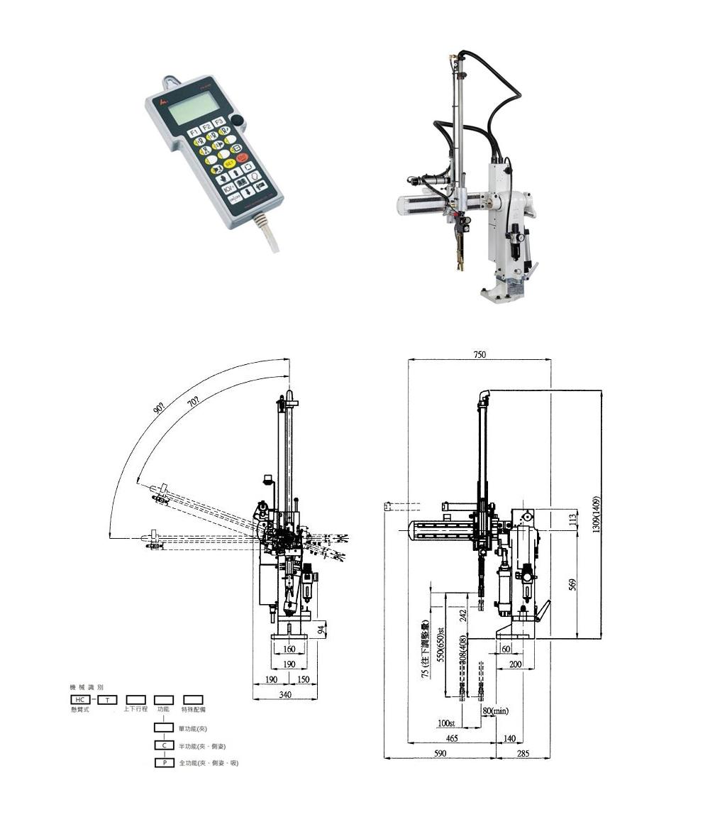 Sprue Picker  Swing Arm Robot For Wedlon Automation Co., Ltd. with regard to Swing Date Picker