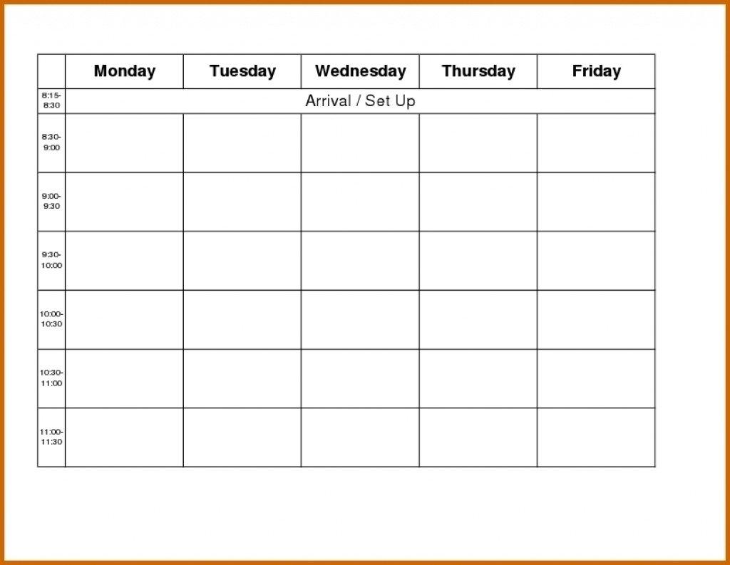 Sunday Through Saturday Planner :Free Calendar Template with regard to Sunday Thru Saturday Calendar