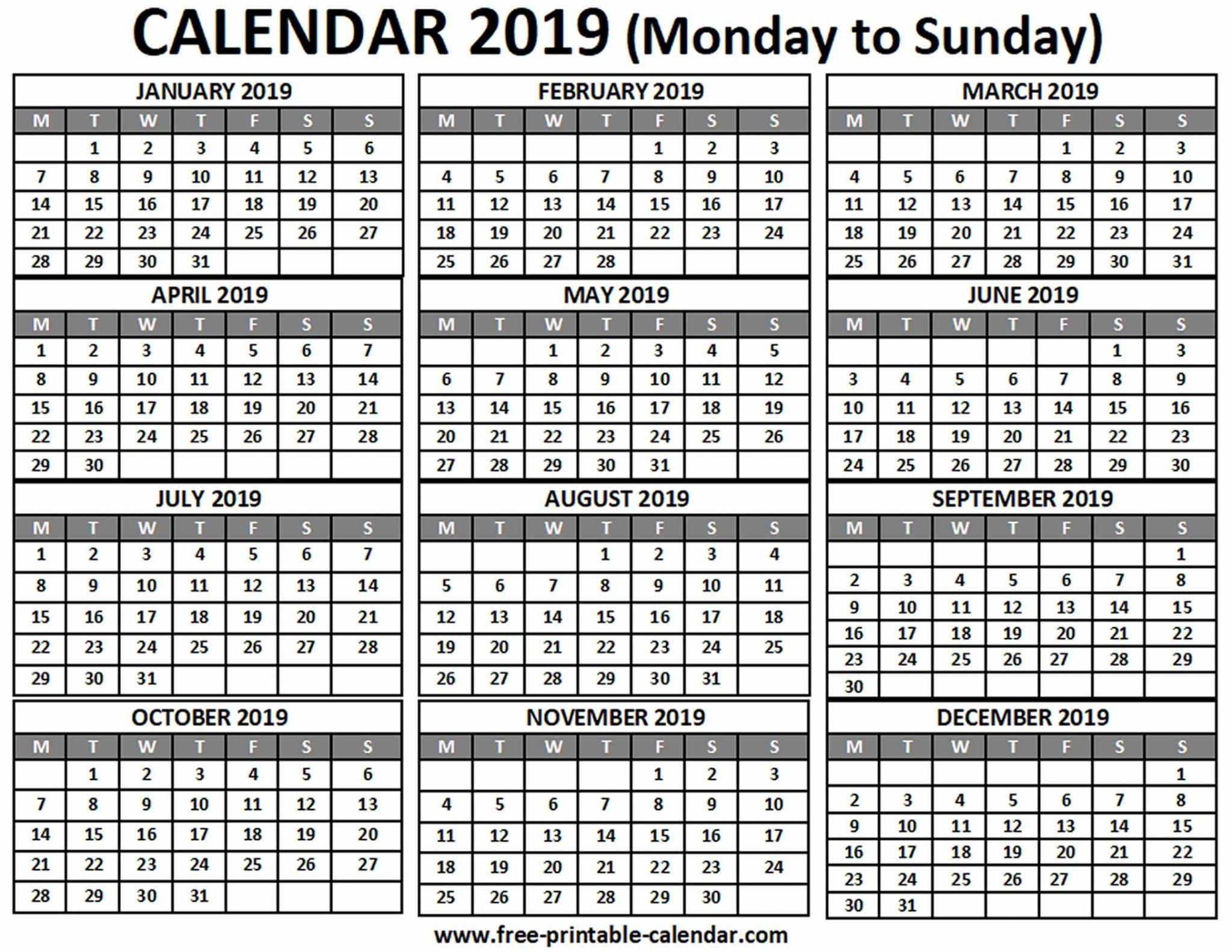 Sunday Through Saturday Template :Free Calendar Template within Sunday Thru Saturday Calendar