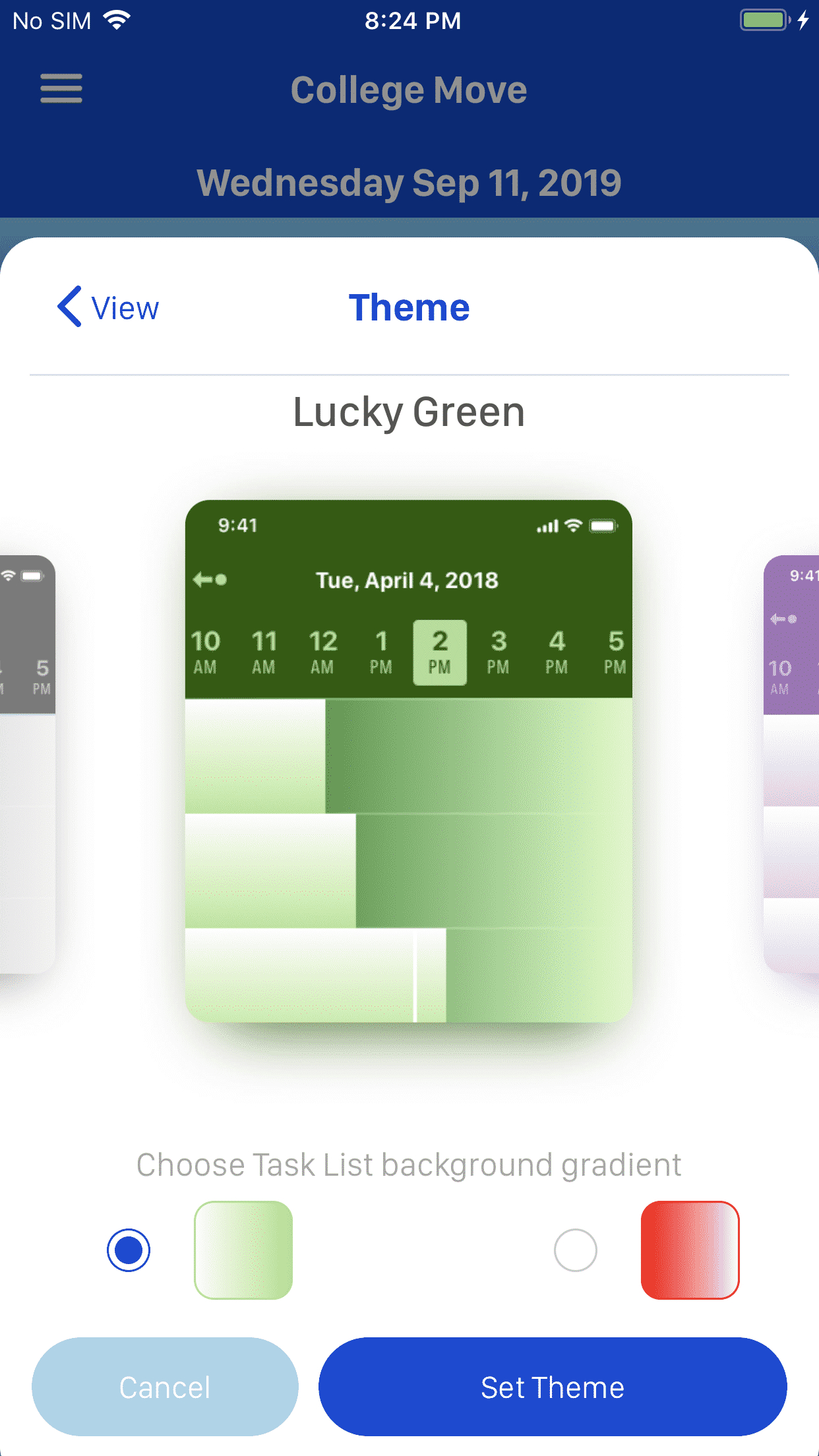 Talendar App  Planner And Calendar App Development   Simpalm within React Native Calendar Agenda