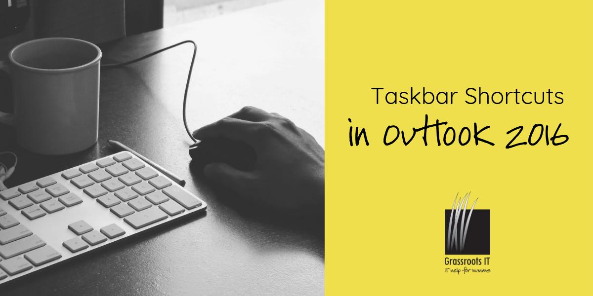 Taskbar Shortcuts In Outlook 2016 intended for Windows 10 Taskbar Calendar Not Showing Events
