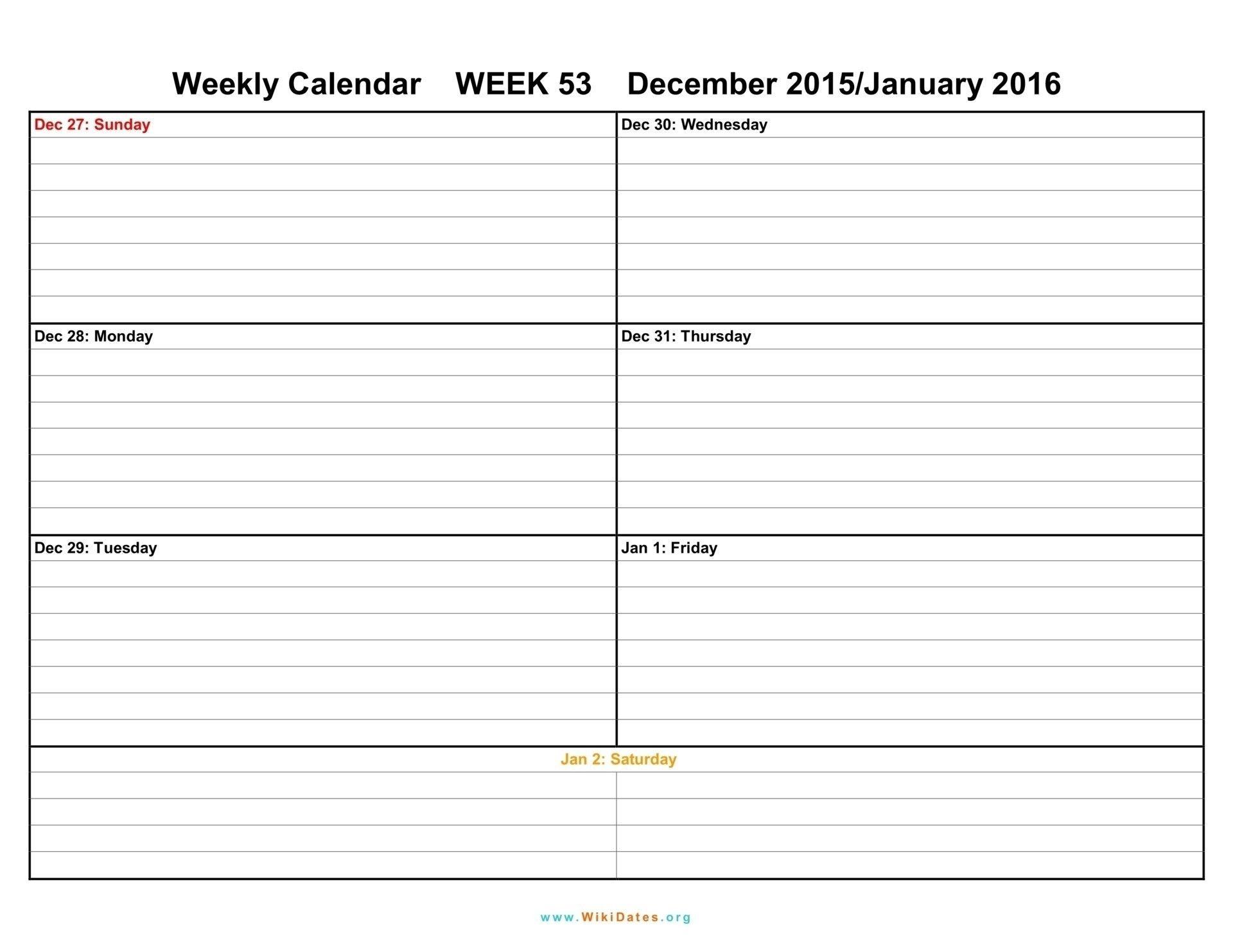 Two Weeks Calendar Template Week Blank Printable Weekly intended for Blank 2 Week Calendar