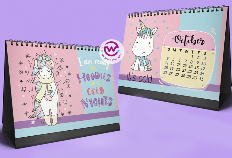 Unicorn Desk Calendar _ 2020  We Print pertaining to Advice From A Unicorn Desk Calendar