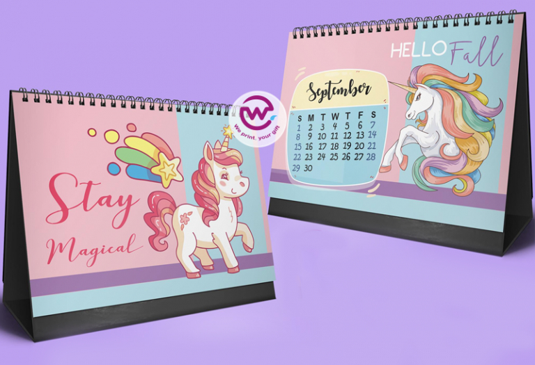 Unicorn Desk Calendar _ 2020  We Print with regard to Advice From A Unicorn Desk Calendar