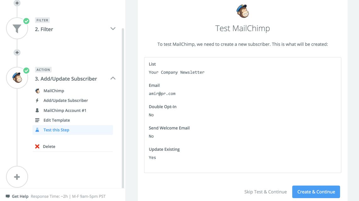 Using Mailchimp  Knack Knowledge Base for Knack Developer Docs