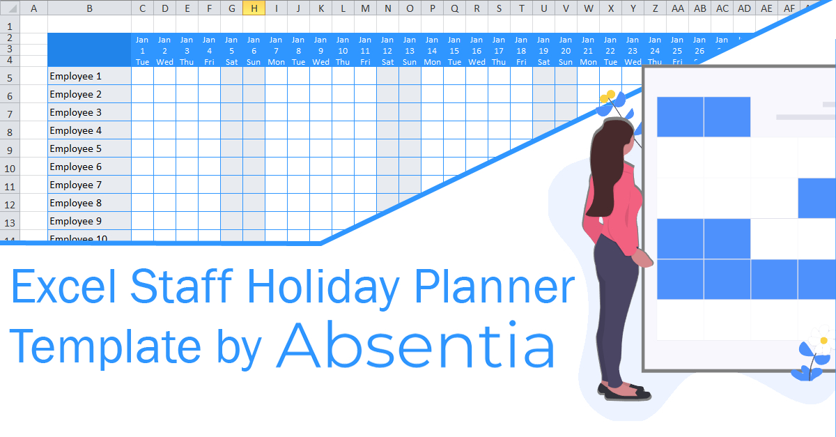 Vacation Sick Time Tracking Template  Audreybraun within Sick Day Calendar For Employees 2021
