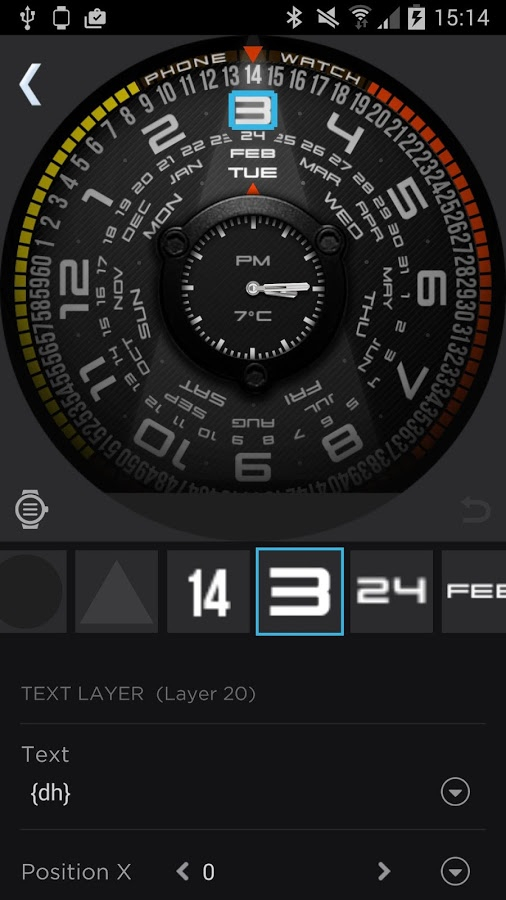 Watchmaker Premium Unlcok All | Android Apk Mods pertaining to Apple Calendar Icon Generator