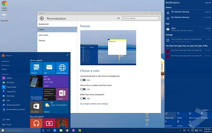 Weather App For Windows 10 Taskbar regarding Windows 10 Taskbar Calendar Not Showing Events