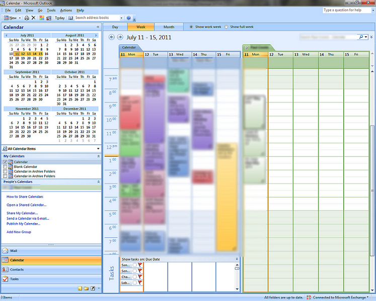 Windows 7  Calendar Entries Categorized But Not Colored in Outlook Calendar Not Showing Appointments