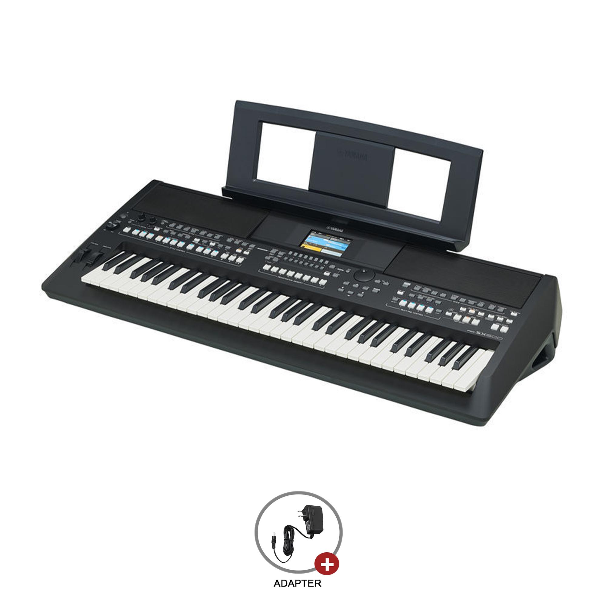 Yamaha Psrsx600 Portable Digital 61 Keys Keyboard With in Yamaha Singapore Calendar
