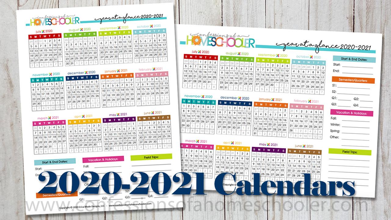 Year At A Glance Calendar 2021 within Year At A Glance Calendar Template