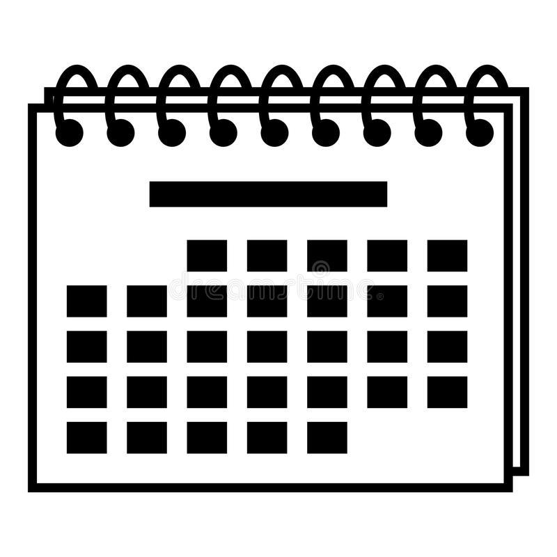 Year Calendar Icon, Simple Style Stock Vector for Year Calendar Icon
