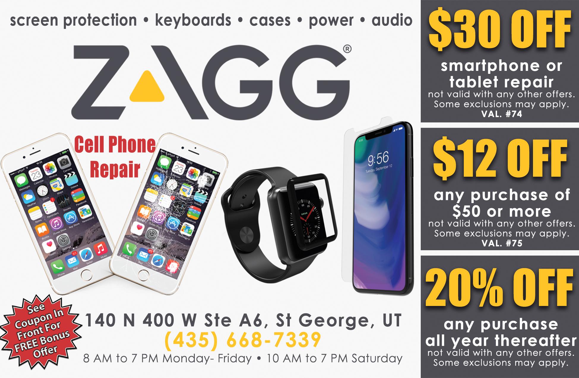 Zagg | Dixie Direct Savings Guide pertaining to Zagg Dino Crossing